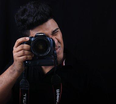 Camera, Canon, Photographer, Reflex, Pentax, Photo
