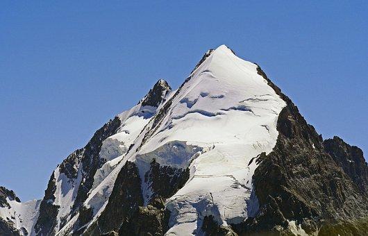 Switzerland, Piz Rosegg, Bernina Alps, Rhätikon