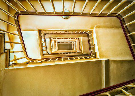 Stairs, Home, Building, Gradually, Staircase, Rise