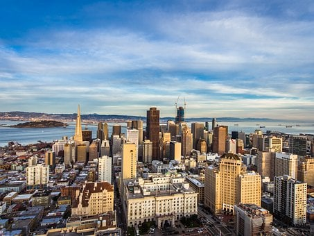 San Francisco, Skyline, Urban, San Francisco Skyline