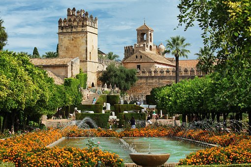 Spain, Cordoba, Europe, Old, Exterior, Landmark, Travel