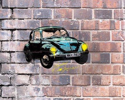 Analog, Graffiti, Tea, Figure, Stencil, Free, Street