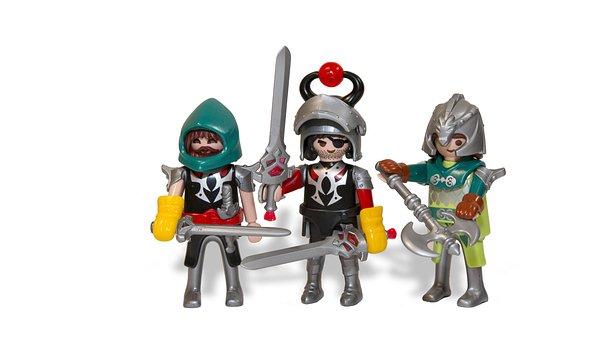 Dragon Slayers, Toys, Knight, Miniature, Warriors