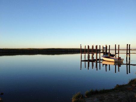 Southafrica, Water, Scenic, Coastline, River, Boat