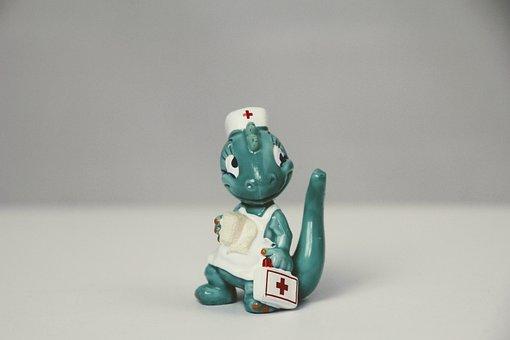 überraschungseifigur, Nurse, Sister, Costume, Dino