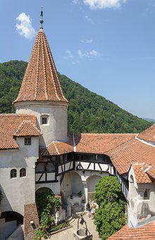 Romania, Bran, Castle, Travel