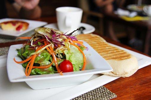 Salads, Coffee, Tea, Breads, Breakfast, Cafe, Yummy