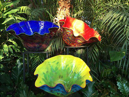 Chihuly, Glass, Sculpture, Art