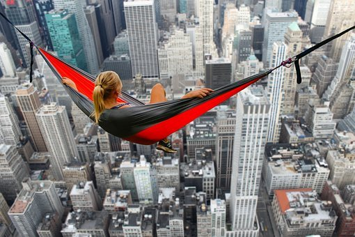 Hammock, Height, Courageous, Courage, Crazy
