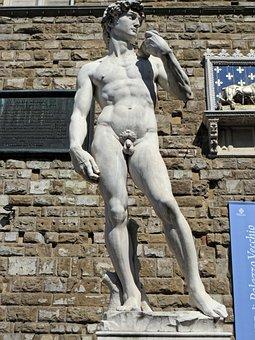 Italy, Florence, David, Michelangelo, Palazzo Vecchio