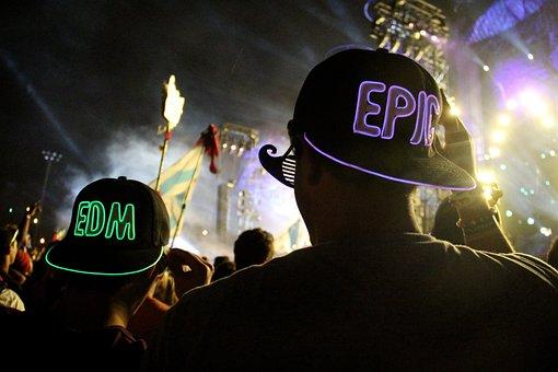 Electric Dance Music, Edm, Edc, Dj, Concert