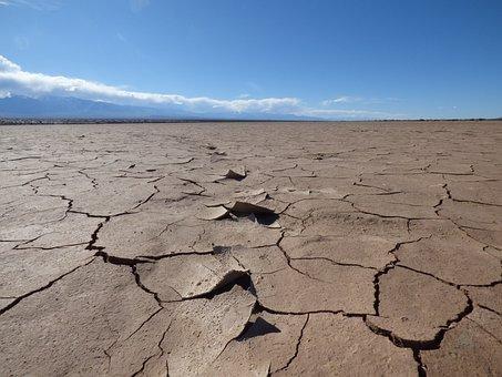 Desert, Dry, Landscape, Hot, Sky, Arid, Environment