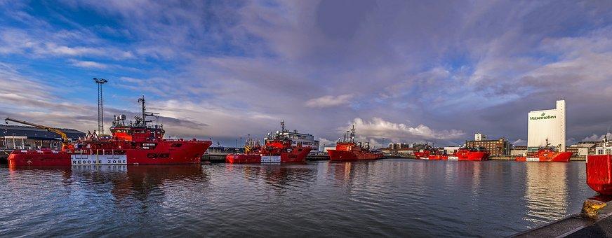Panoramic, Esbjerg, Harbor