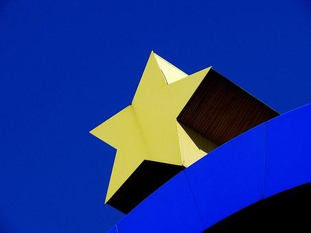 Star, Euro, Euro Star, Europe, European, Blue