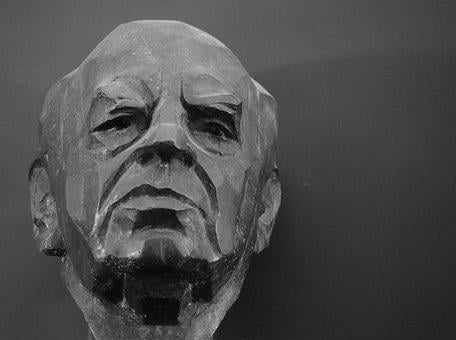 Personal, Man, Hanns Henny Jahnn, Mask, Statue