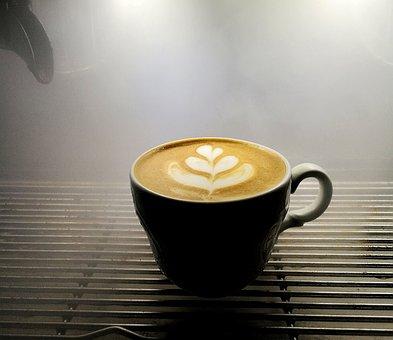 Macchiato, Latteart, Coffe, Tulip, Milk, Latte, Steam