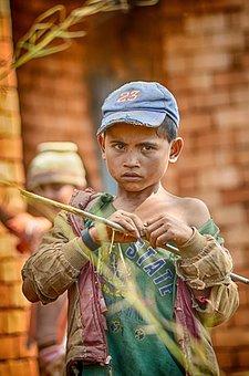 Extreme Poverty, Madagascar, Child, Poor, Poor Kid