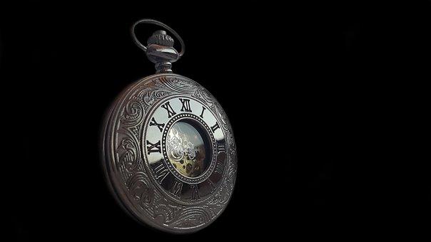 Pocket Watch, Clock, Time, Old, Nostalgia, Antique