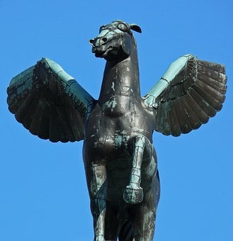 Pegasos, Latin Pegasus, Rarely Even Pegasos, Mythology