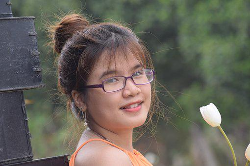 Portrait, Beautiful Girl, Comments Close, Dear