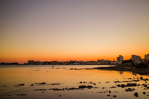 Salento, Porto Cesareo, Sunset, Puglia, Sea