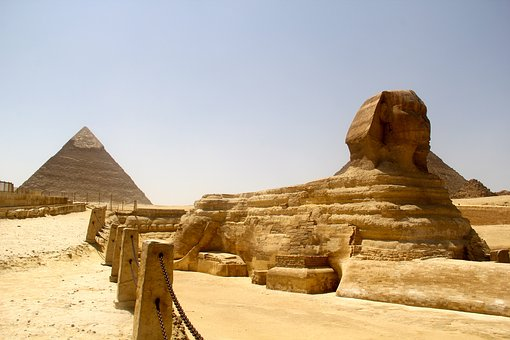 Egypt, Middle Eastern, Pyramids, Sphinx, Middle