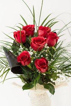Red Roses, Roses, Red, Flower, Love, Romance, Romantic