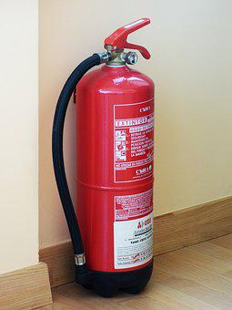 Fire Extinguisher, Fire, Security, Prevention