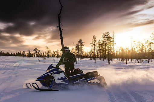 Snowmobiles, Lapland, Snowmobile, Sweden, Fun, Ski Doo