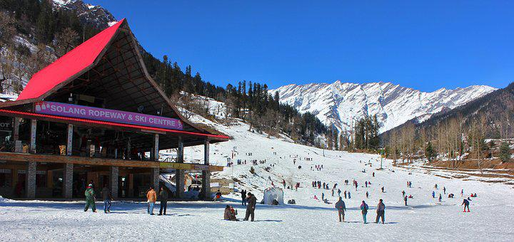 Manali, Himachal, Pardesh, Mandi, Solang, Valley, India
