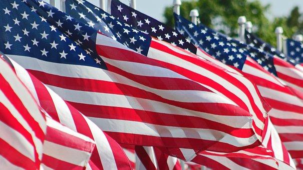 American, Flag, American Flag, Symbol, Stripes