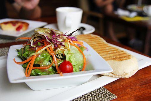 Salads, Coffee, Tea, Breads, Breakfast, Cafe, Yummy