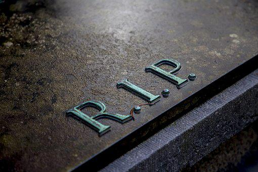 Grave, Cemetery, Rip, Tombstone, D, Death