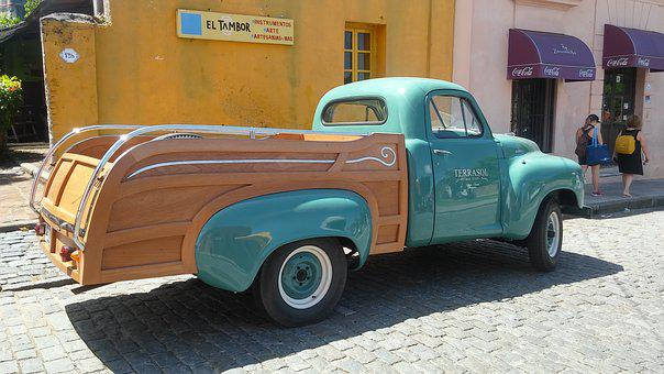 Clasic, Car, Old, Cologne, Vintage, Truck, Cars