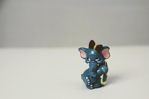 überraschungseifigur, Isolated, Sweet, Elephant