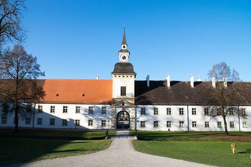 Oberschleißheim, Bavaria, Germany, Castle, Elder