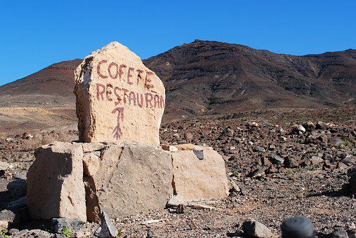 Cofete, Fuerteventura, Canary Islands, Hiking