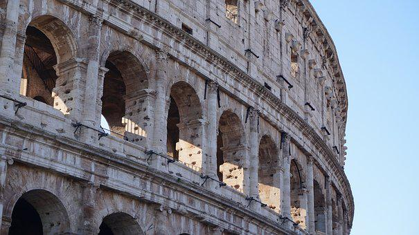 Colosseum, Rome, Italy, Capital, Monument