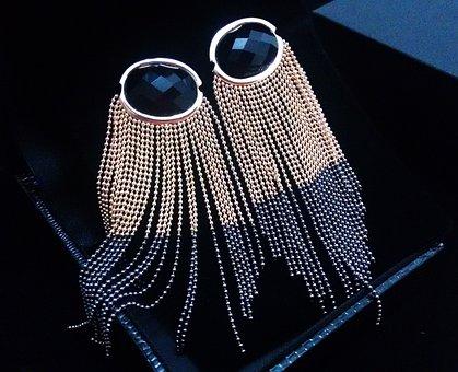Fringe Earring, Earring, Semijoia, Jewelry Store