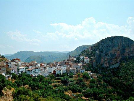 Spain, Chulilla, Travel, Landscape, Europe, Spanish