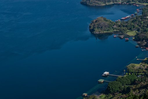 El Salvador, Coatepeque, Lake, Fishing, Tourism, Ports