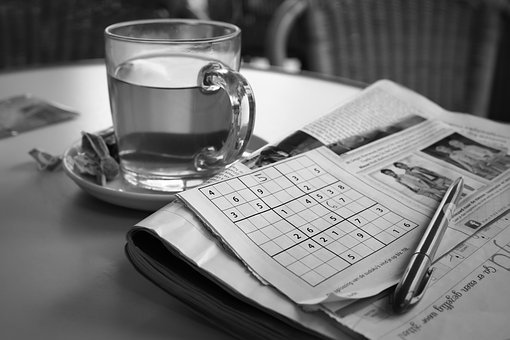Relaxation, Sudoku, Tea, Puzzle, Free Time