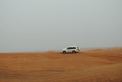 Dubai, Desert, Safari, Jeep Safari, Sand, Dunes, Hot