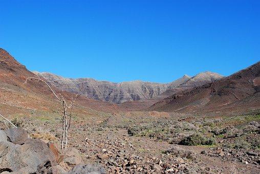 Fuerteventura, Landscape, Canary Islands, Spain