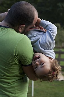 Father And Daughter, Fun, Love, Laughter, Happy, Play