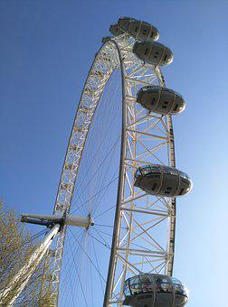 London, Noria, Attraction, London Eye, Great Britain