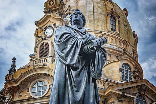Dresden, Frauenkirche, Martin Luther, Architecture