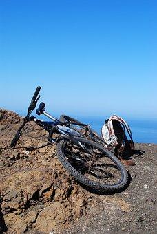 Bike Ride, Mountains, Sea, Island, Canary Islands