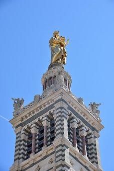 Marseille, Tourism, Notre-dame-de-la-garde