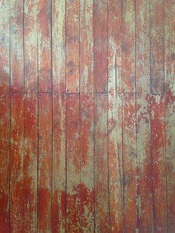 Distressed, Wood, Planks